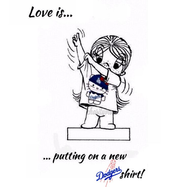 #Dodgers Shirt... #Love is... #baseball