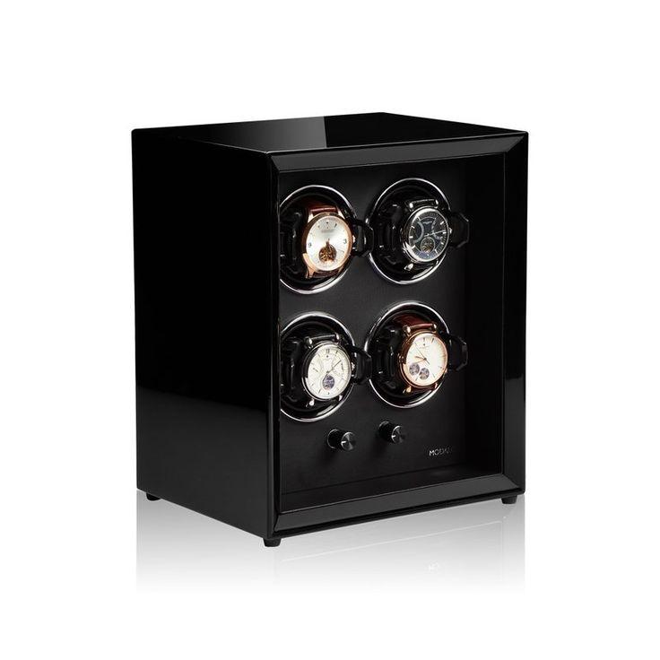 Modalo watchwinder model Protec, speciaal voor in een kluis gefabriceerd.
