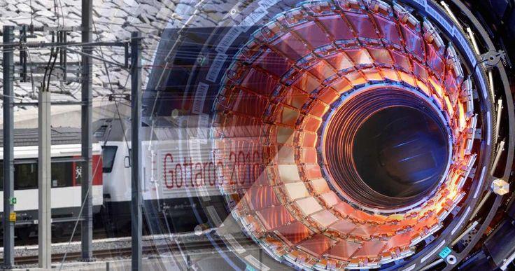 Η σχέση του CERN και της σήραγγας Gotthard όπου έγινε η σατανιστική τελετή