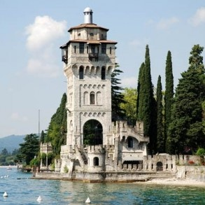 Gardone Riviera: Vittoriale degli Italiani, Villa Alba, Andrè Heller