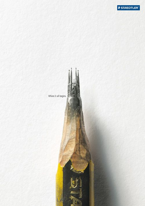 Staedtler ステッドラー 鉛筆 広告 1
