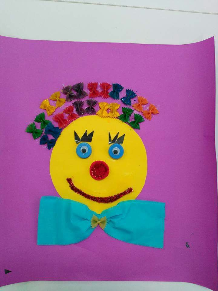 1000 ideas about clown crafts on pinterest circus crafts preschool circus crafts and. Black Bedroom Furniture Sets. Home Design Ideas