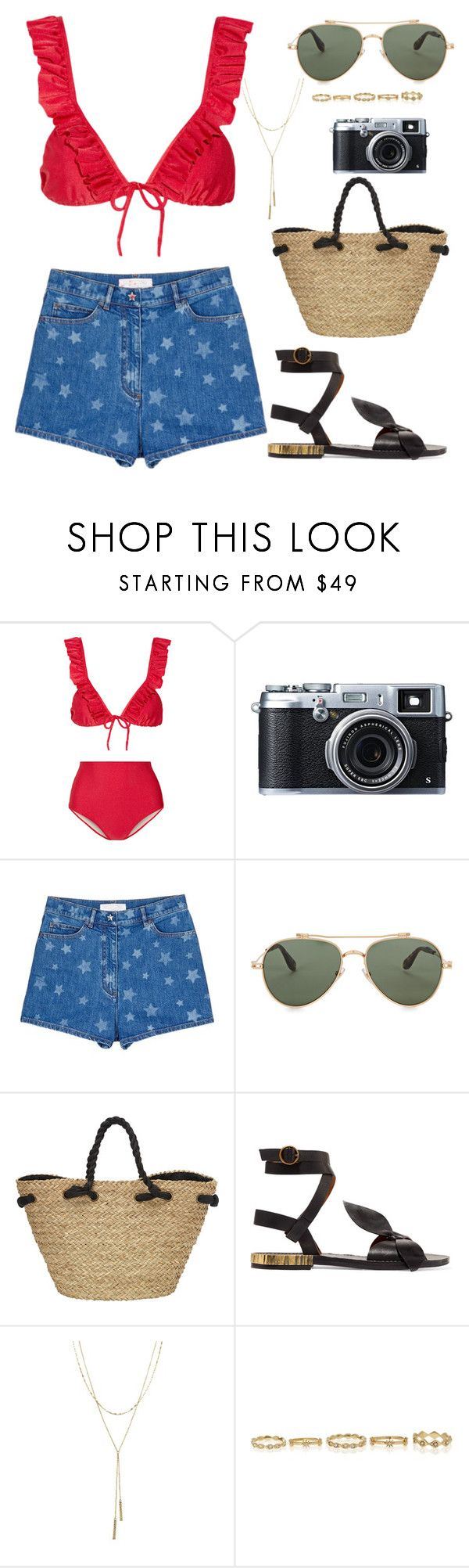 """Untitled #225"" by elb1406 on Polyvore featuring ADRIANA DEGREAS, Fujifilm, Valentino, Givenchy, Sun N' Sand, Chloé and Bloomingdale's"