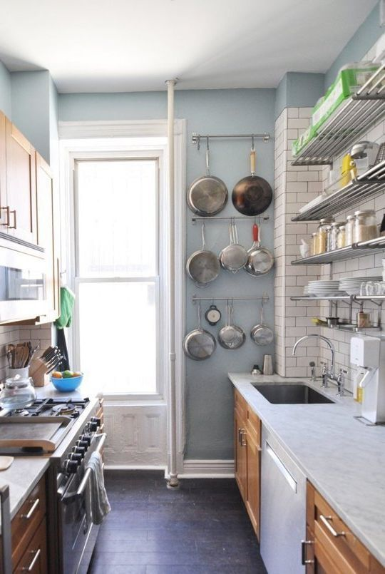 Best 25 small galley kitchens ideas on pinterest for Expanding a galley kitchen