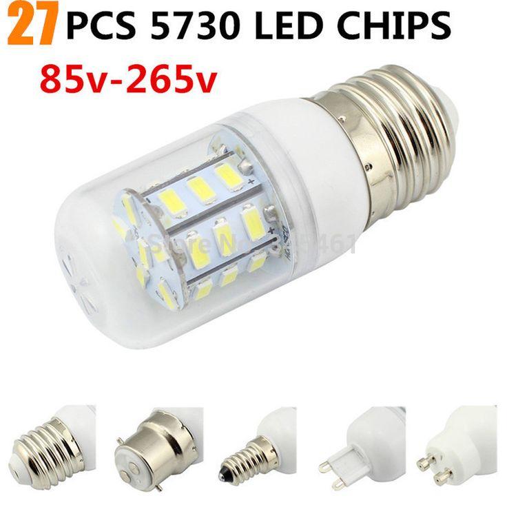 Brand new и высокое качество 5 Вт Светодиодная Лампа 27LED Ультра яркий SMD 5730 Лампы E27/GU10/E14/G9 Теплый белый/Белый светодиодные лампы для продажи