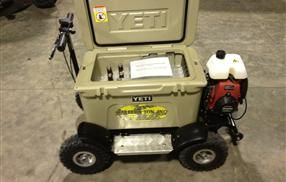 1000 images about drew 39 s cool yeti board on pinterest for Motor cooler on wheels