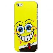Θήκη iphone 5 & 5S Hard Lovely Sponge Bob