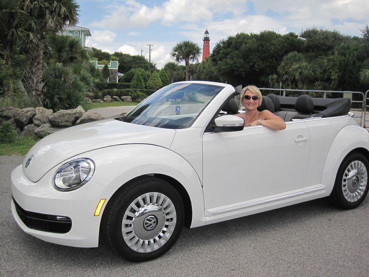 My New Ride A 2013 Vw Beetle Bug Convertible Ponce Inlet