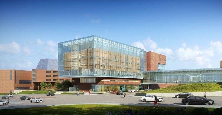 University of Kansas Medical Center Health Education Building - CO Architects