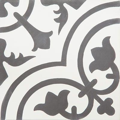 Cement Tiles - Cluny 888 C 8 x 8 Deco - By Granada Tile