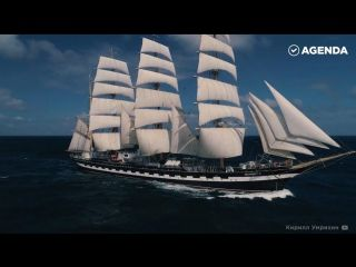 Парусник-легенда с почти вековой историей — и сейчас барк «Крузенштерн» бороздит моря и океаны