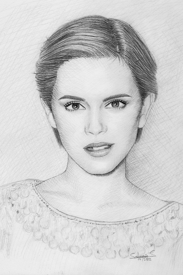 Celebrity Pencil Drawings - Drawing Pencil Sketch
