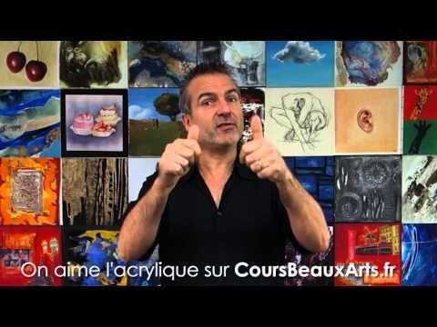 Cours de peinture Acrylique en ligne – CoursBeauxArts.fr