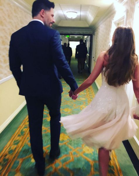Sofia Vergara and Joe Manganiello's wedding is happening right now.