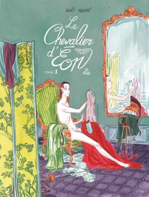 Maupré, Agnès : Le Chevalier d'Eon, tome 1 : Lia. Edition Ankama, 2014, 96 p.