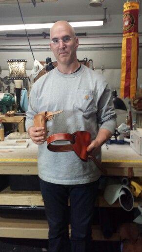The latest graduate of the Slickbald Holster Class! Mr. Rick Rayner.  He did a fantastic job!