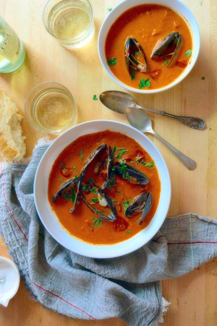 Mussel Stew With Smoky Tomato Sauce And Y Cured Chorizo Recipe By The Splendid Table Is