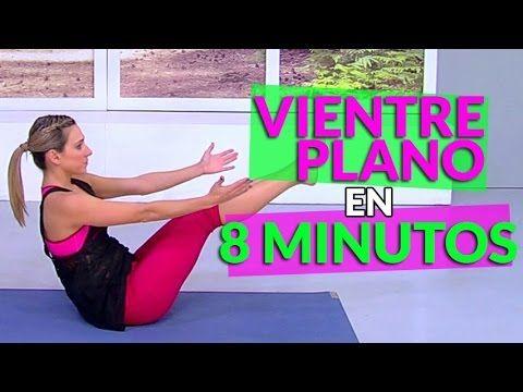 Vientre plano en 8 minutos – Vida Zen - YouTube