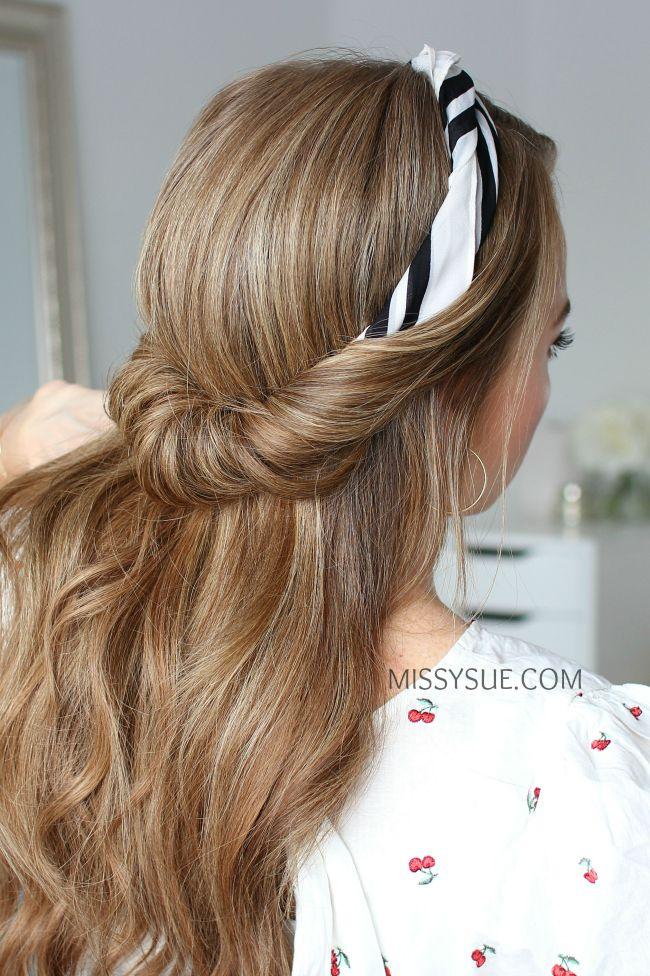 12 Back-to-School Scarf Hairstyles   Viva La Vibes