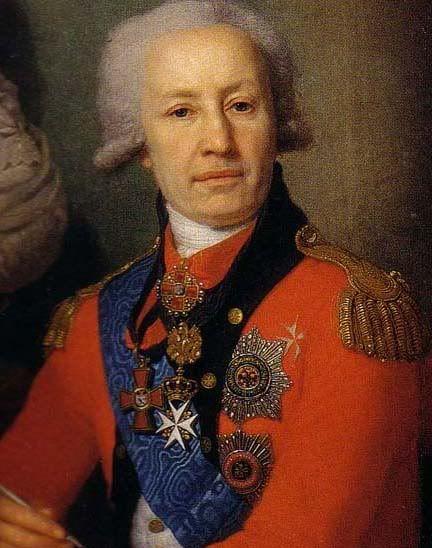 портрет св. князя Петра Васильевича Лопухина .1800-е гг.