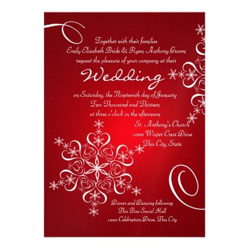 229 besten christmas wedding invitations bilder auf pinterest, Einladungen
