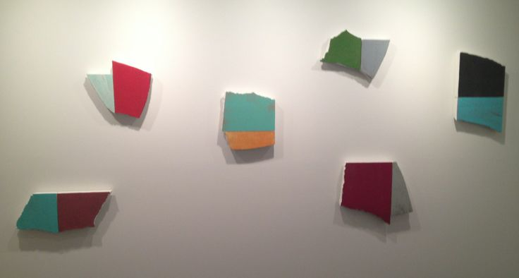 Miles Hall, (left to right) Medieval Modern, Eastern Promise, Flatland Boogie, Attendant Transitions, Related Parts II and Ciel-Mer 2013, di... @ Artereal Gallery. www.artereal.com.au