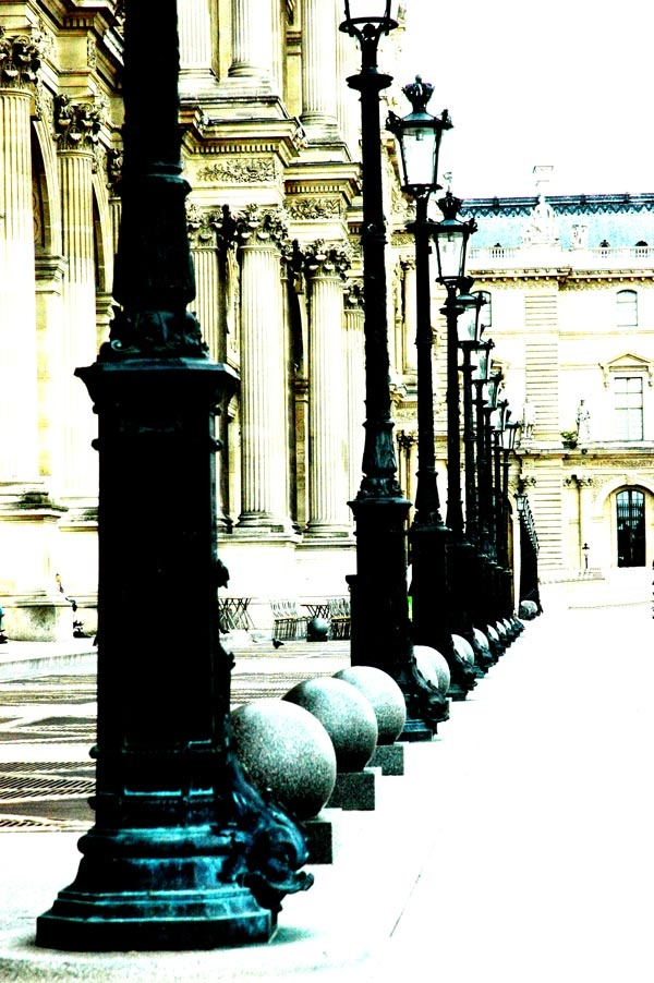 The Louvre...Photography & Photoshop by Peter Carman 2006