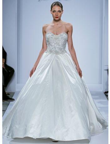 95 best Dennis Basso Bridal images on Pinterest | Wedding frocks ...