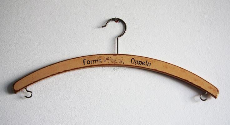 Original hanger, made during Austo-Hungarian period (produced till 1918). #vintageclothing #vintage #antique #Vintagehanger #antiquehanger you can buy on http://www.salonmody.cz/en/home/76-hanger.html