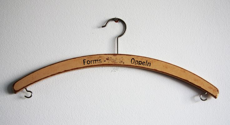 Original hanger, made during Austo-Hungarian period (produced till 1918). #vintageclothing #vintage #antique #Vintagehanger #antiquehanger you can buy on http://www.salonmody.cz/en/home/76-hanger.html