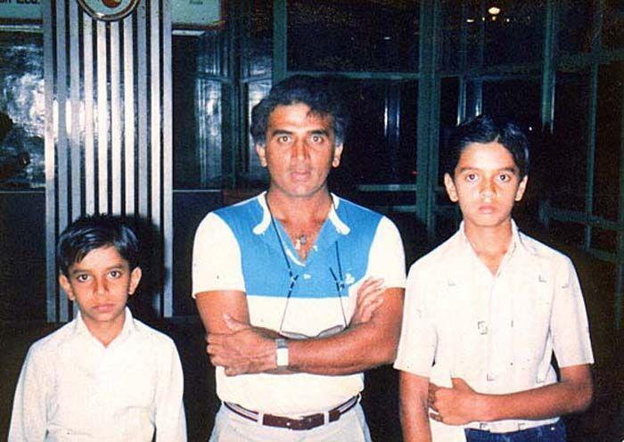Rare photo of Rahul Dravid