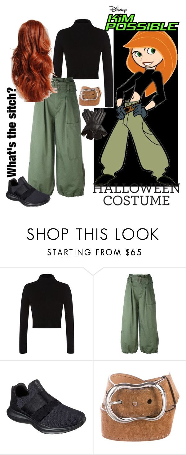 """""""Halloween costume: Kim Possible"""" by weightlessdreams ❤ liked on Polyvore featuring Faith Connexion, Marc Jacobs, Skechers, Prada, Ultimate, AGNELLE and halloweencostume"""
