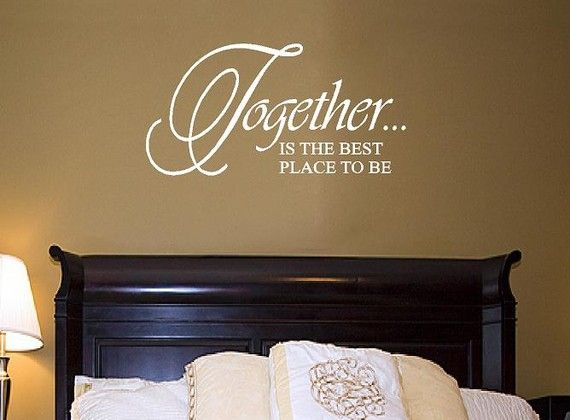 Family Vinyl Wall Decal  Together is the by openheartcreations, $18.00