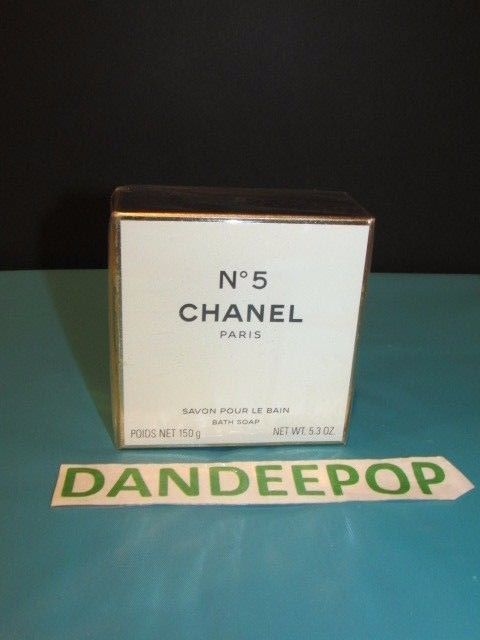Chanel N° 5 Paris Perfumed Bath Soap 5.3 Oz New #CHANEL #N°5 #Number5 #BathSoap #Soap #PerfumeSoap #dandeepop Find me at dandeepop.com