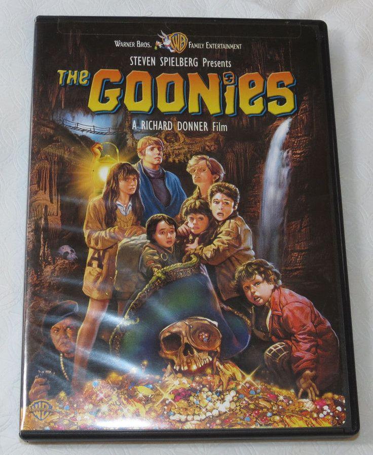 The Goonies DVD 2007 Steven Spielbert Warner Bros Family