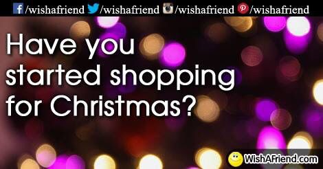 I can help you do your Xmas shopping painlessly and effortlessly all whilst hanging out with your friends!