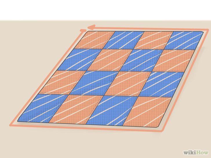 Comment faire une courtepointe en patchwork (pour les débutants)