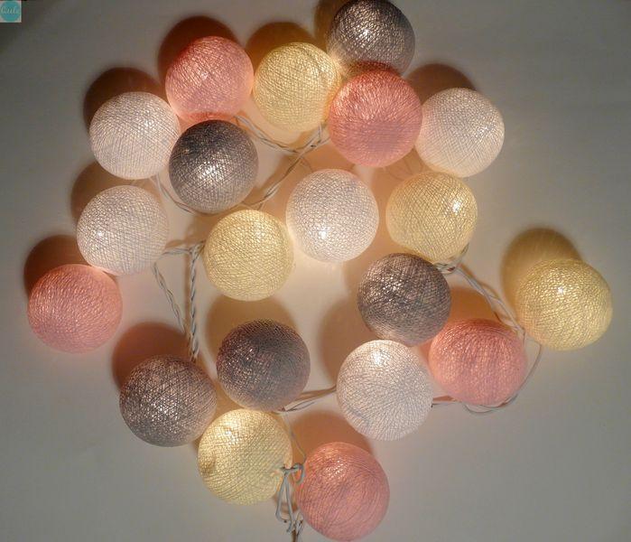 """""""crème de la crème"""" cotton balls lampki giralnda - qule - Pozostałe"""