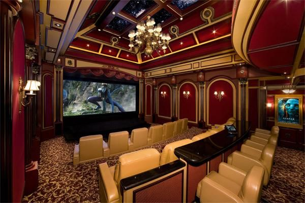 Home theatre by First Impressions Theme Theatre - Miami, FL