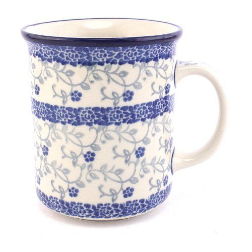 Mug for romantic souls :) See more #PolishPottery at http://slavicapottery.com