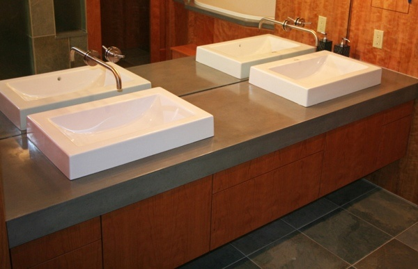 17 Best Images About Concrete Countertops On Pinterest Concrete Counter Rivers And Blue Back