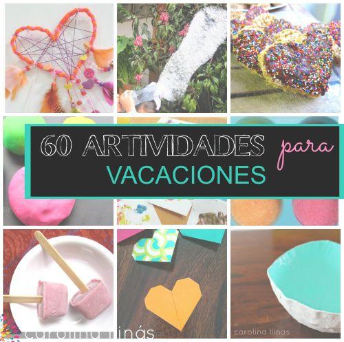 actividades para niños en vacaciones