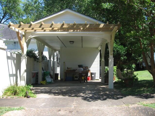 86 best images about car ports on pinterest carport for Carport landscaping ideas