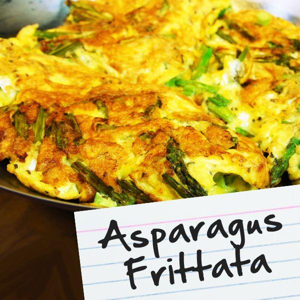 Asparagus Frittata | Recipes for Diabetes | Pinterest