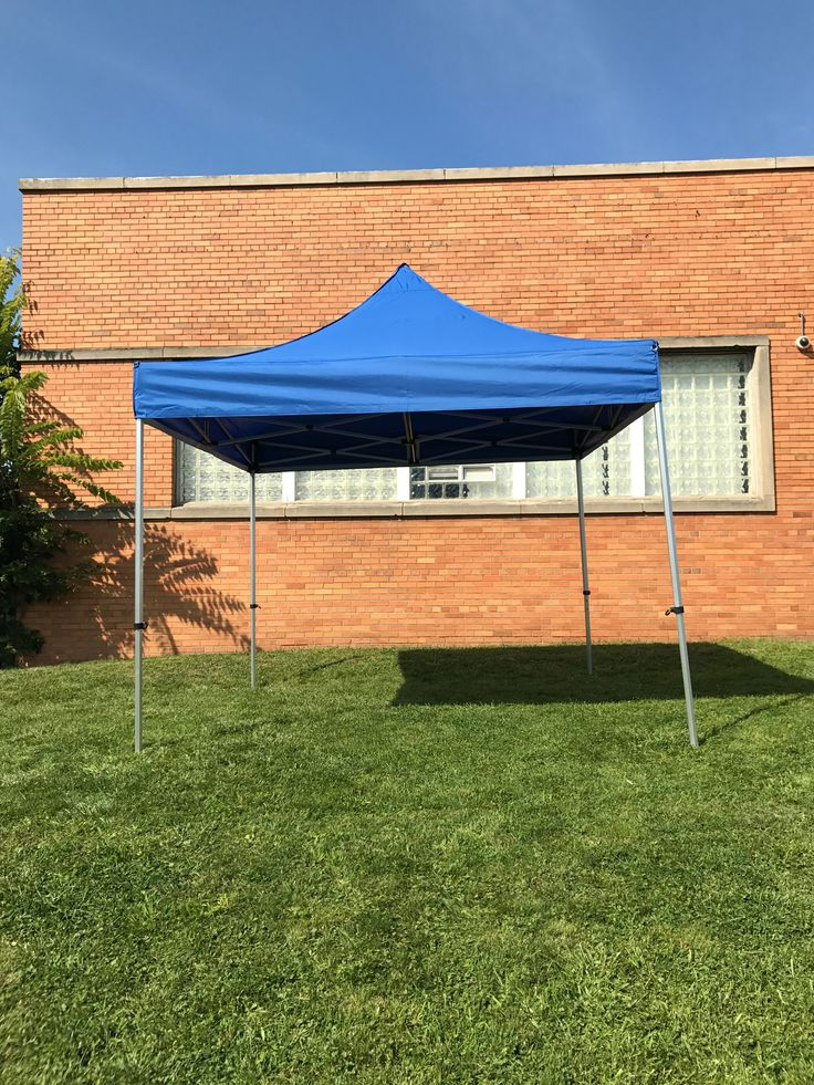 10 x 10 Blue Canopy Frame Tent Pop Up Instant Shelter Trade Show Sports Tent & The 25+ best Sports tent ideas on Pinterest | List for camping ...