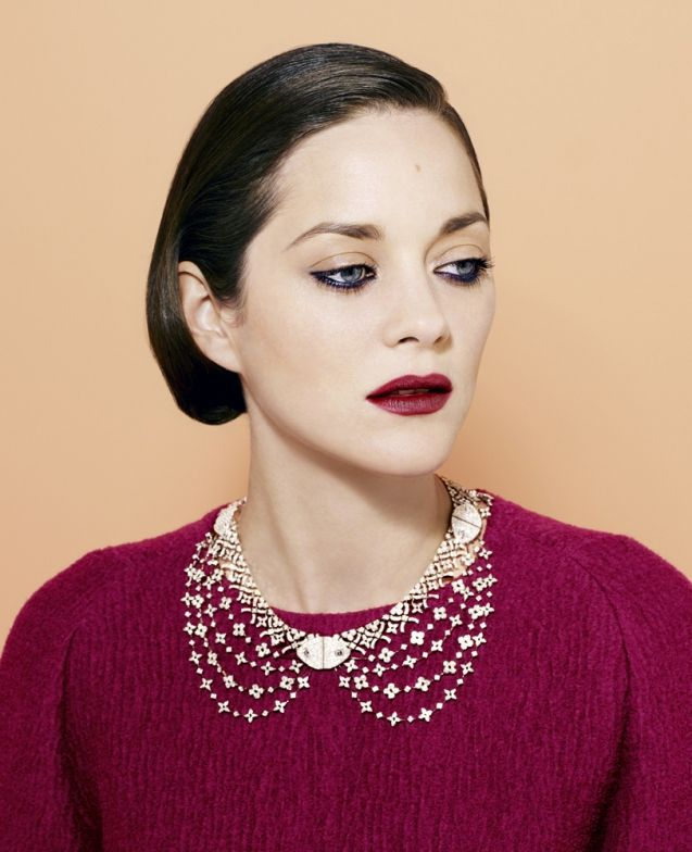 TIME Style: Marion Cotillard -: Portraits Inspiration, Peter Hapak, Love Pictures, Style Icons, Fall 2012, Marion Cotillardtimefall201205, Time Magazines, Bibs Necklaces, Time Style