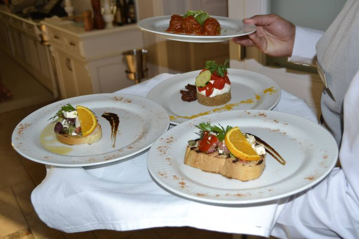 What to taste first? #DelfinoBlu #Gastronomy #Corfu