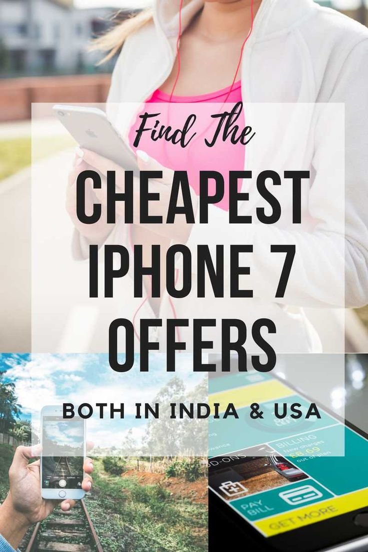 Find The Cheapest iPhone 7 Offers In India and USA Both #iphone7 #iphone #iphoneoffers #deals #iphone7deals #offers