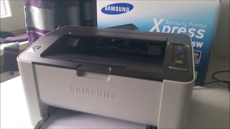 Installing Samsung Printer Xpress M2026W ( wifi, NFC, etc.)