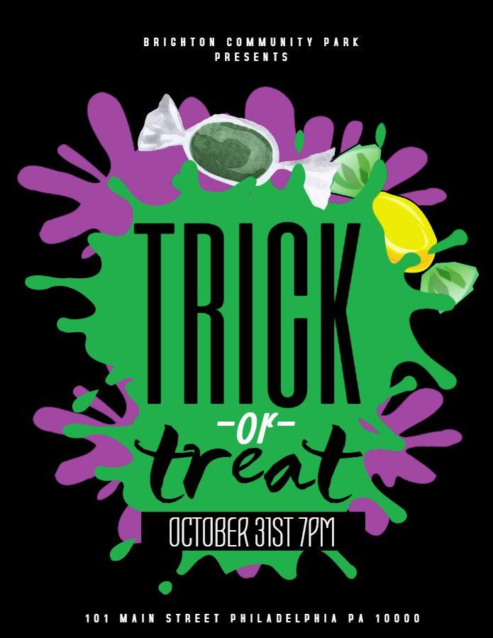 Best Halloween Poster Templates Images On   Halloween
